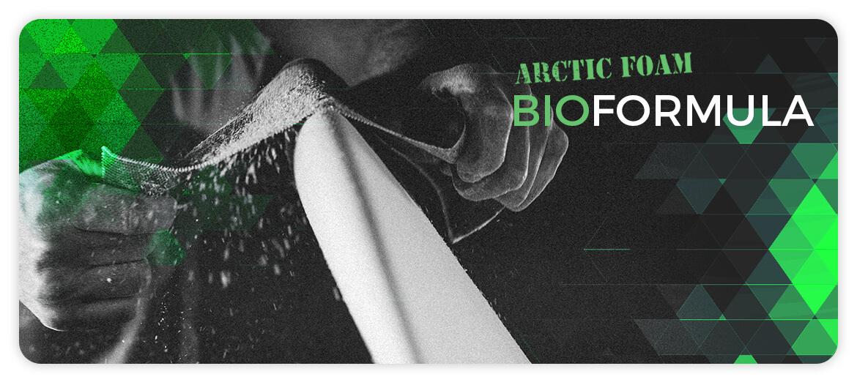 Arctic Foam Eco Formula banner